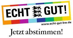 ECHT GUT! abstimmen für die Burg unter der Grasnarbe (Burg Wersau Reilingen)