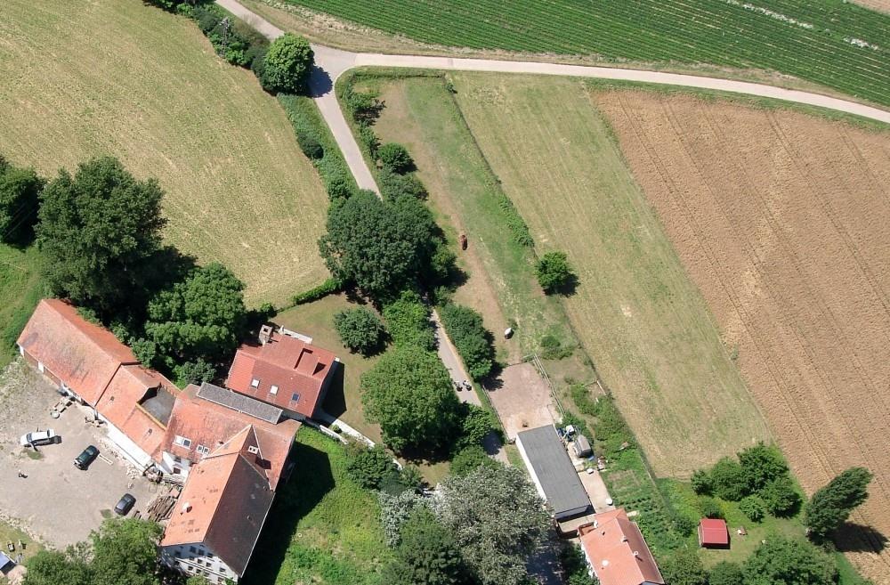 Luftbild der Wersau